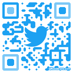 QR code with logo 1Wal0