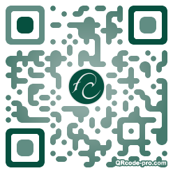 QR code with logo 1WcL0