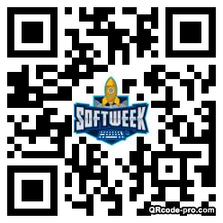 QR code with logo 1Wd40