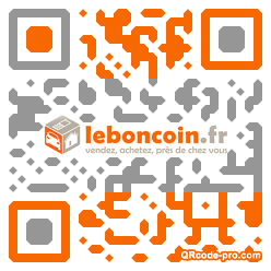 QR code with logo 1Wds0