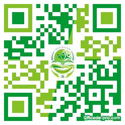 QR code with logo 1We00
