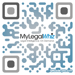 QR code with logo 1We90