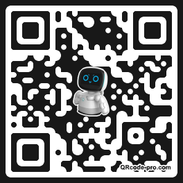 QR code with logo 1WeD0
