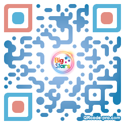 QR code with logo 1Wet0