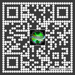QR code with logo 1Wi80