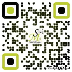 QR code with logo 1WoG0