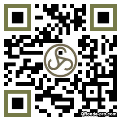 QR code with logo 1Wq30