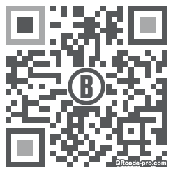 QR code with logo 1Wqe0