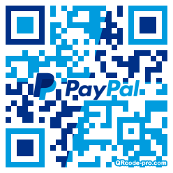 QR code with logo 1Wr70