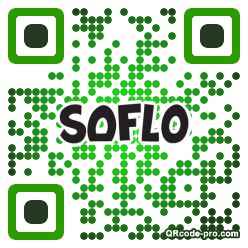 QR code with logo 1WrS0