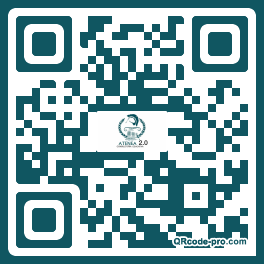 QR code with logo 1Ws70