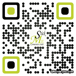 QR code with logo 1WsF0