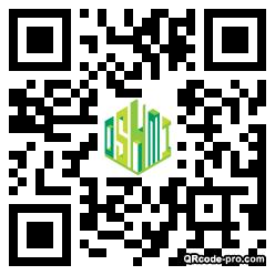 QR code with logo 1Wv00