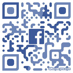 QR code with logo 1Wv60