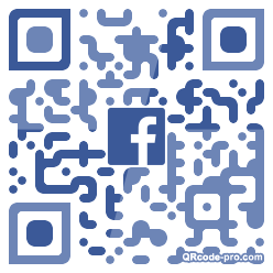 QR code with logo 1Wx50