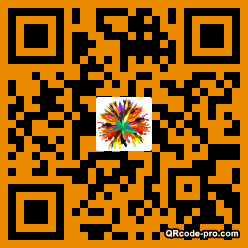 QR code with logo 1WzD0