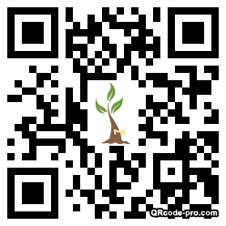 QR code with logo 1X0G0