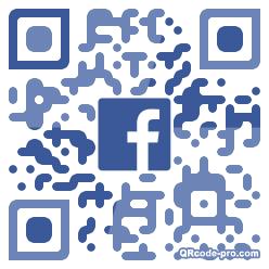 QR code with logo 1X4W0