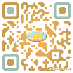 QR code with logo 1X6R0