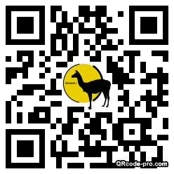 QR code with logo 1X910