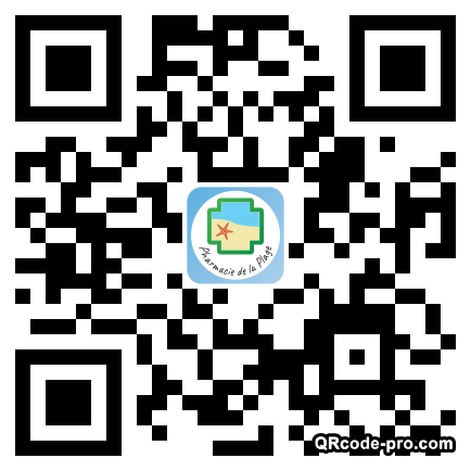 QR code with logo 1X980