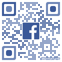 QR code with logo 1XBL0