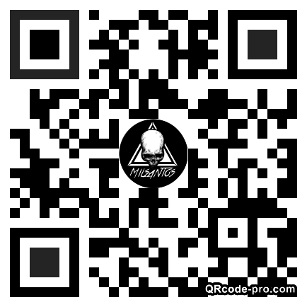 QR code with logo 1XCN0