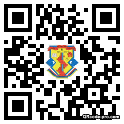 QR code with logo 1XEB0