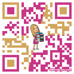 QR code with logo 1XF20