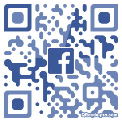 QR code with logo 1XFR0