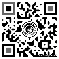 QR code with logo 1XH10