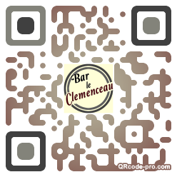 QR code with logo 1XH80