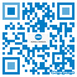 QR code with logo 1XHA0