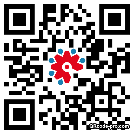 QR code with logo 1XKD0