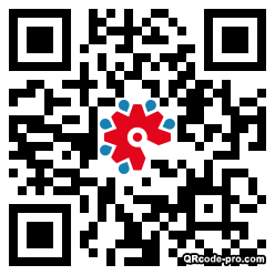 QR code with logo 1XKG0