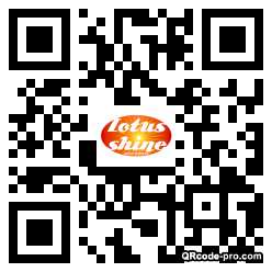 QR code with logo 1XKR0