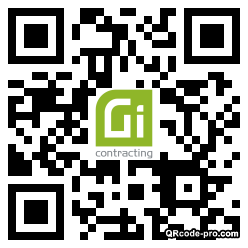 QR code with logo 1XM90