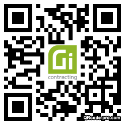 QR code with logo 1XMe0
