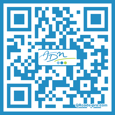 QR code with logo 1XNA0