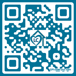 QR code with logo 1XOM0