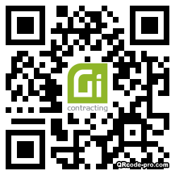 QR code with logo 1XRd0