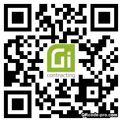 QR code with logo 1XRp0