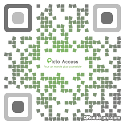 QR code with logo 1XTN0