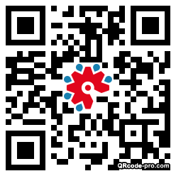 QR code with logo 1XTi0