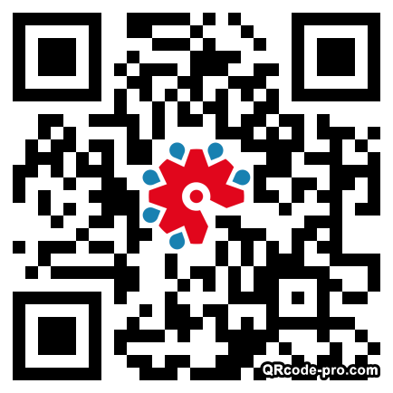 QR code with logo 1XTm0