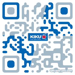 QR code with logo 1XVD0