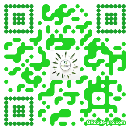 QR code with logo 1XVL0