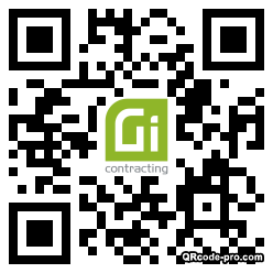 QR code with logo 1XX80