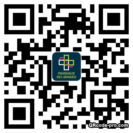 QR code with logo 1Xe50