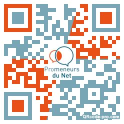 QR code with logo 1Xkl0
